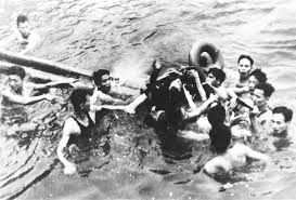 john mccain is pulled out of a hanoi lake by north vietnamese army