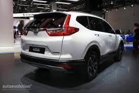 New Honda Crv Diesel Euro Spec 2018 Honda Cr V Abandons Diesel For Hybrid Engine