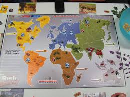Central America Map Game by Up The Vacuum Thingy Risk Legacy Session Report Game 4 No