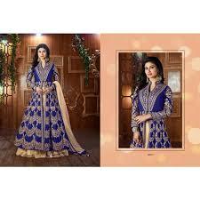sari mariage sari lehenga choli surya mariage bleu royal indien