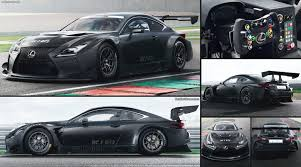 lexus usa rc lexus rc f gt3 2017 pictures information u0026 specs