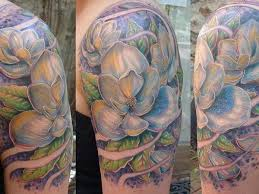 white magnolia flower tattoo more information