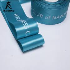 custom ribbon with logo aliexpress buy custom ribbon logo printed pack decoration