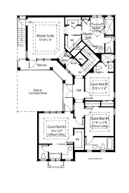 One Story House Plans With 4 Bedrooms 99 One Level Floor Plans 1 5 Story House Plans With