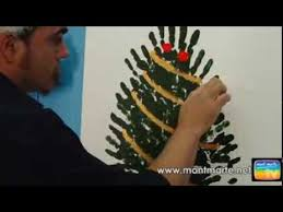 art lesson mont marte joe u0027s hand print christmas tree lesson