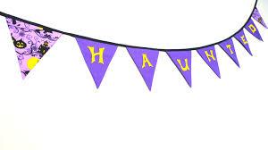 Halloween Bunting Banner Halloween Aisling Designs