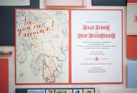 destination wedding invitations sally gray s maine map destination wedding invitations