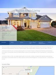 real estate listing template single listing templates evolution