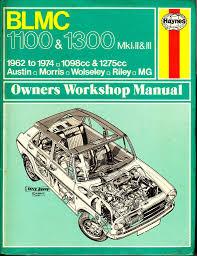 haynes british leyland blmc 1100 u0026 1300 workshop manual 1962 to