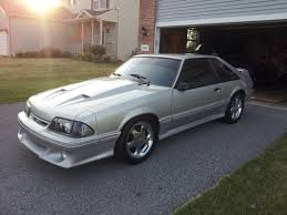 Black Mustang Cobra Expired 1993 Mustang Gt Supercharged Silver W Black Interior
