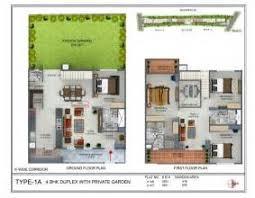 Bungalow Plans Duplex Bungalow Plans Beautiful Brick Duplex Hwbdo67663