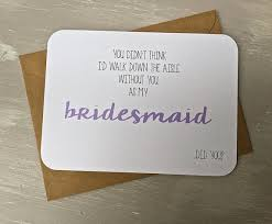 asking bridesmaids cards will you be my bridesmaid card the cutest way to ask