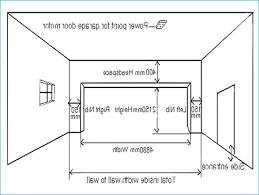 average 3 car garage size two car garage size photo 3 of 7 typical two car garage door