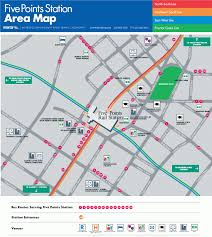 Marta Subway Map by Atlanta Subway Map Travel Map Vacations Travelsfinders Com