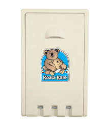 Koala Change Table Kb101 00 Vertical Wall Mounted Baby Changing Station