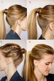 ponytail hairstyles for easy ponytail hairstyles for medium hair