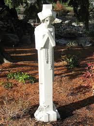com frank lloyd wright 66 midway gardens sprite sandstone statue all weather 10 yr warranty outdoor statues garden outdoor