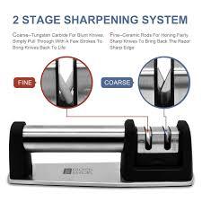 kitchen saviors knife sharpener set