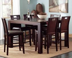 High End Dining Room Furniture High Chair Counter Height Chairs Dining Room Furniture Modern 5pc
