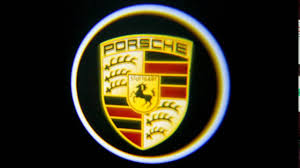 porsche logos how to install porsche door welcome logo lights youtube