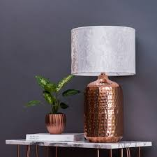 copper table lamp nz xiedp lights decoration