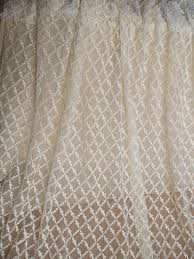 fabric tulle ivory lace fabric with checks cotton lace fabric