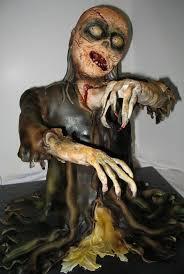 46 besten scary zombie cakes bilder auf pinterest