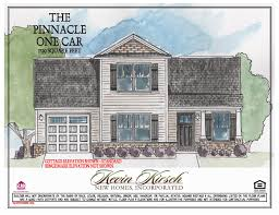 the one car floor plans kevin kirsch homes