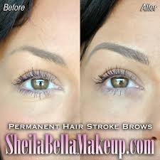 Permanent Makeup Eyebrows Hair Stroke What You See Is What You Get 100 Real Looking Brows Sheila