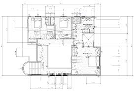 Double Master Bedroom Floor Plans Hillside Project Renderings Ashelford Design