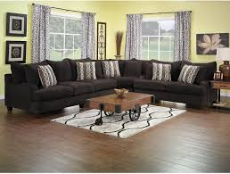 livingroom packages putty chenille 3 piece sectional chocolate living room