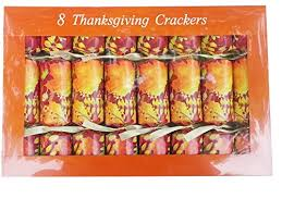 autumn leaves thanksgiving crackers favors cracker