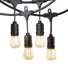 commercial outdoor string lights led string lights taotronics commercial grade decorative light with