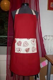couture tablier de cuisine tabliers de noël dans la tête de liette