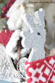 homemade christmas decorations our reindeer more four