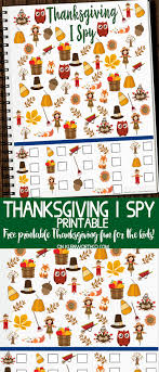 free thanksgiving i printable kleinworth co