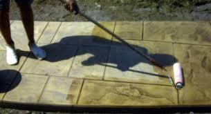 Cement Patio Sealer Acrylic Vs Penetrating Sealer In Decorative Concrete