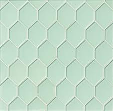 sea mist diamond green glossy glass tile kitchen backsplash
