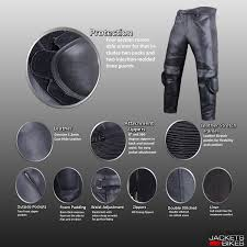 Cowhide Pants Amazon Com Motorcycle Racing Armor Leather Pants W Slider 36w