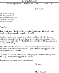 ideas of thank you letter for informational interview sample in