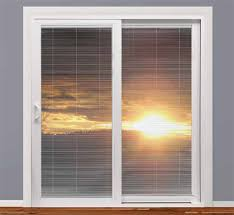 Pella Between The Glass Blinds Tuscany Series Vinyl Patio Doors Milgard Windows U0026 Doors
