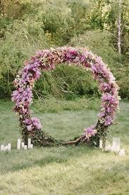 wedding arch top 20 pretty circular wedding arches for 2018 trends