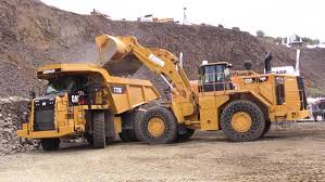 caterpillar demo show 988k wheelloader cat 374f excavator and