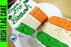 Color Of Irish Flag How To Make Irish Flag Cake Pinch Of Luck Youtube
