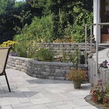Steine Fur Gartenmauer Stein Stützmauer Modulare Für Gartenzäune Windsor Rinn