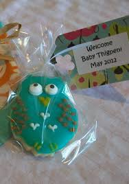 shower favors baby boy owl sugar cookies awesome sweetness bakery
