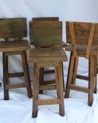 pallet bar stool build find pinterest pallet bar stools