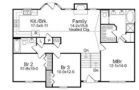 split floor plan floor plan modern garage underneath entry newfoundland front