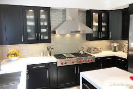 kitchen glass shaker cabinets shaker maple espresso framed cabinets cabinets