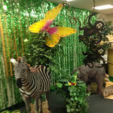 jungle theme decorations vbs jungle theme decorations pta carnival jungle theme